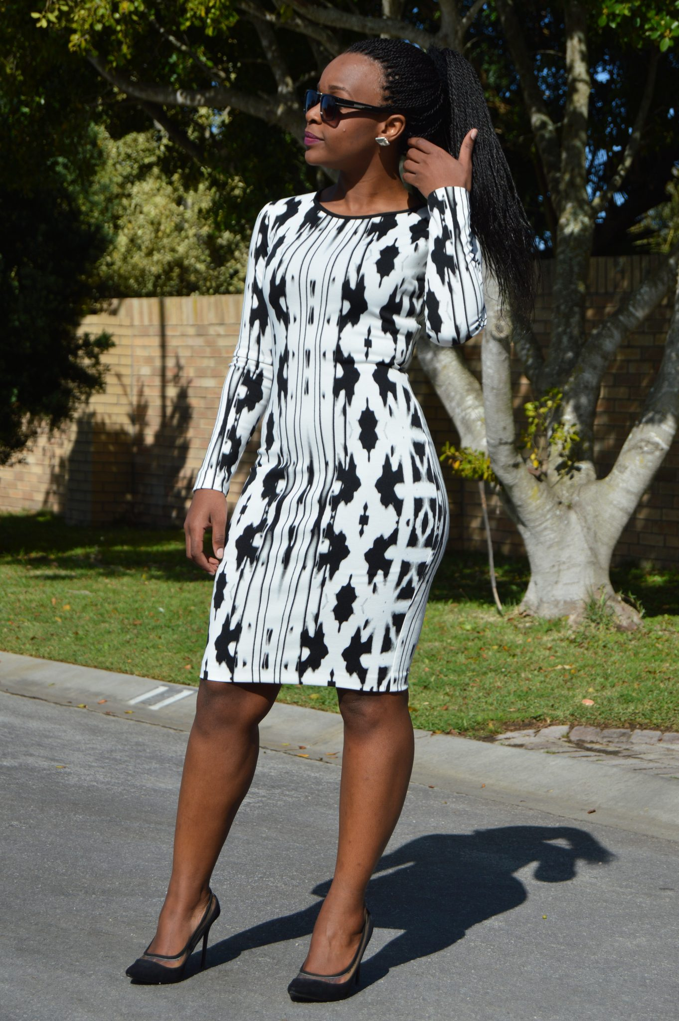 Laurina Machite South African Fashion Blogger White Tight and Just Right