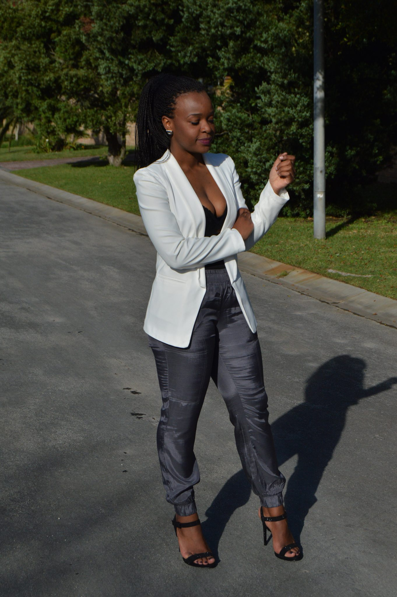 Laurina Machite South African Fashion Blogger Shades of Grey