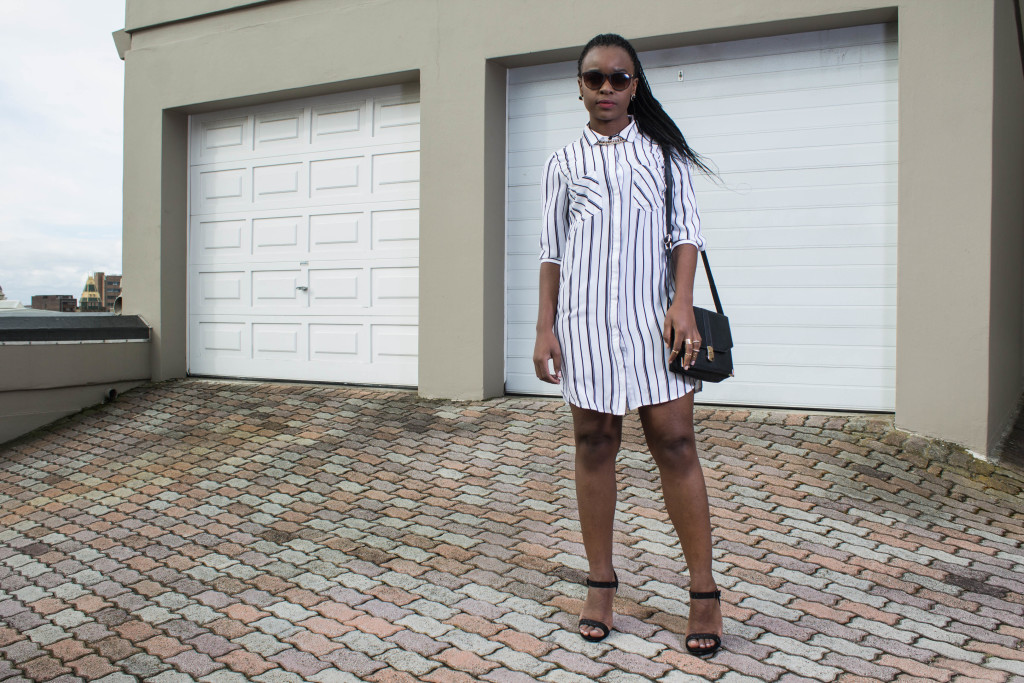 Laurina Machite South African Fashion Blogger Shirt Dress