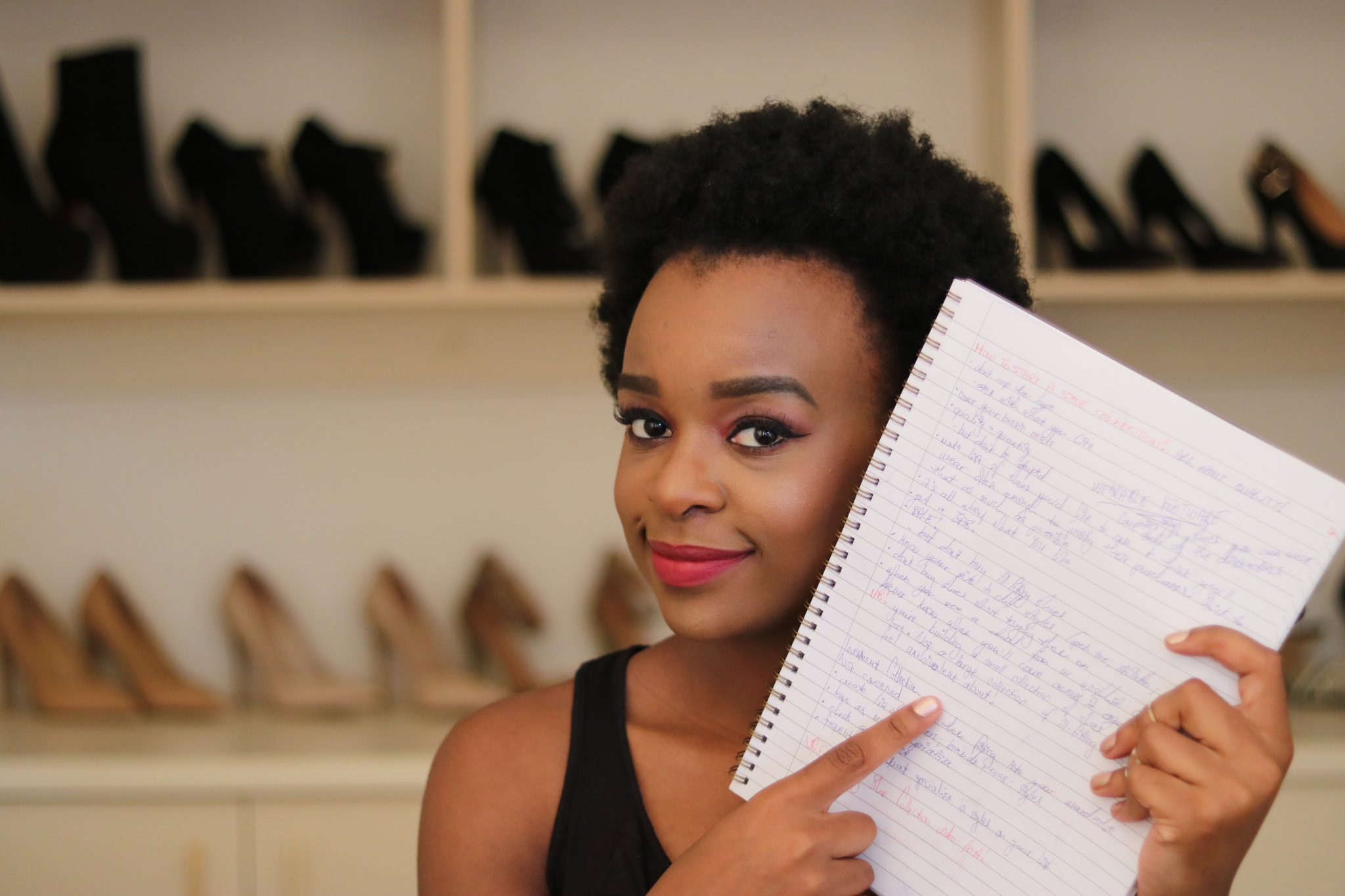 How to start a shoe collection laurina machite