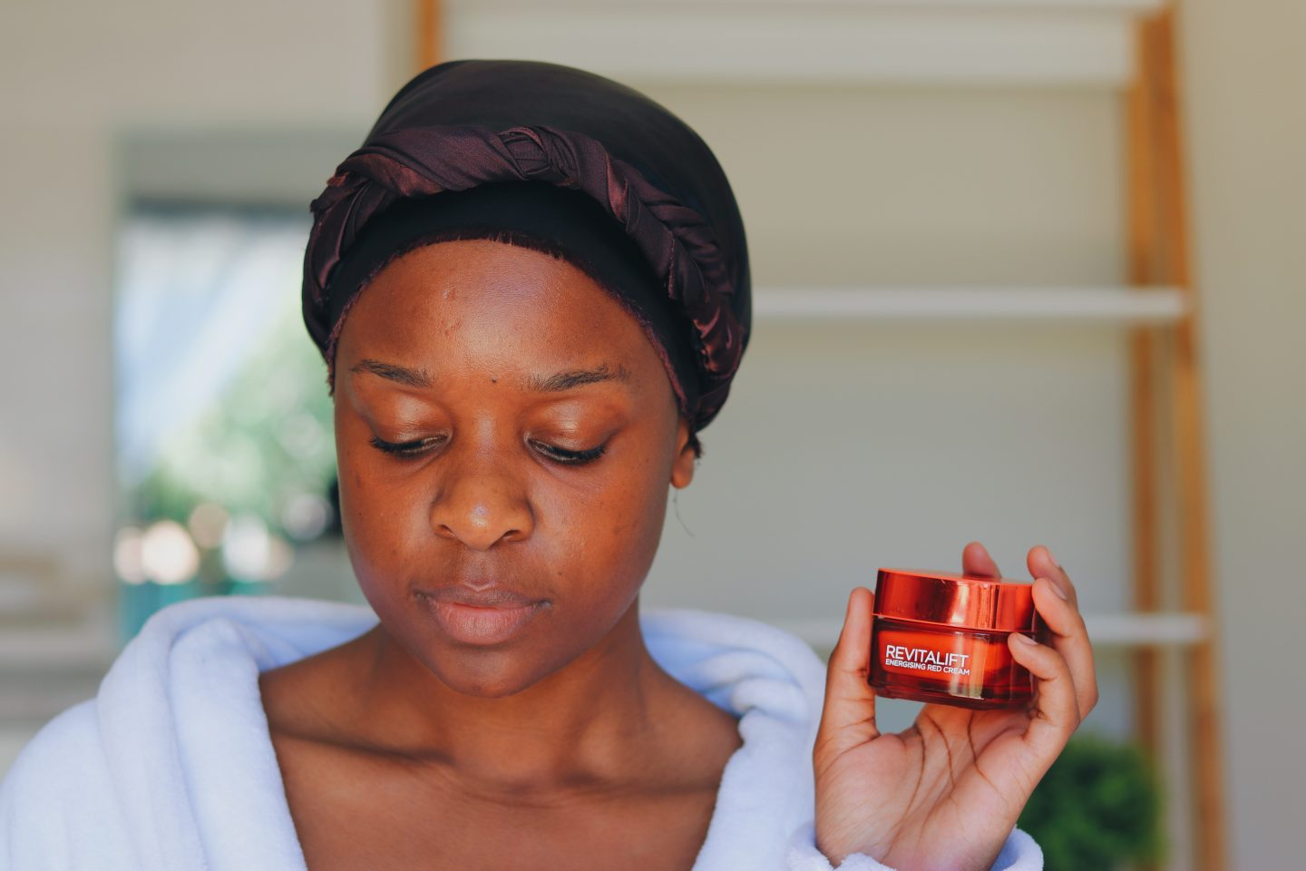 My #GlowUp Using the L'Oreal Revitalift Energizing Red Cream | Review